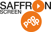 Saffron Screen Pop Up