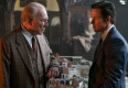 Christopher Plummer (left) and Mark Wahlberg star in TriStar Pictures' ALL THE MONEY IN THE WORLD.