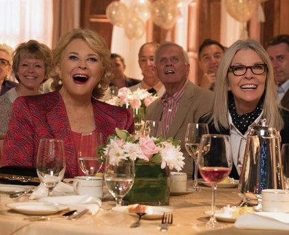 (L-R) Candice Bergen, Diane Keaton in the film, BOOK CLUB, by Paramount Pictures